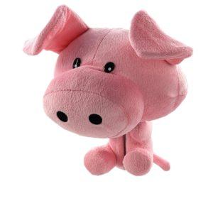 piggy golf head cover, pig golf club headcover