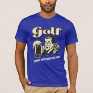 golf drinking and driving, funny golf t shirt