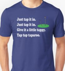 tap it in happy gilmore shirt, funny t-shirt for golfers, hilarious golf tee shirt