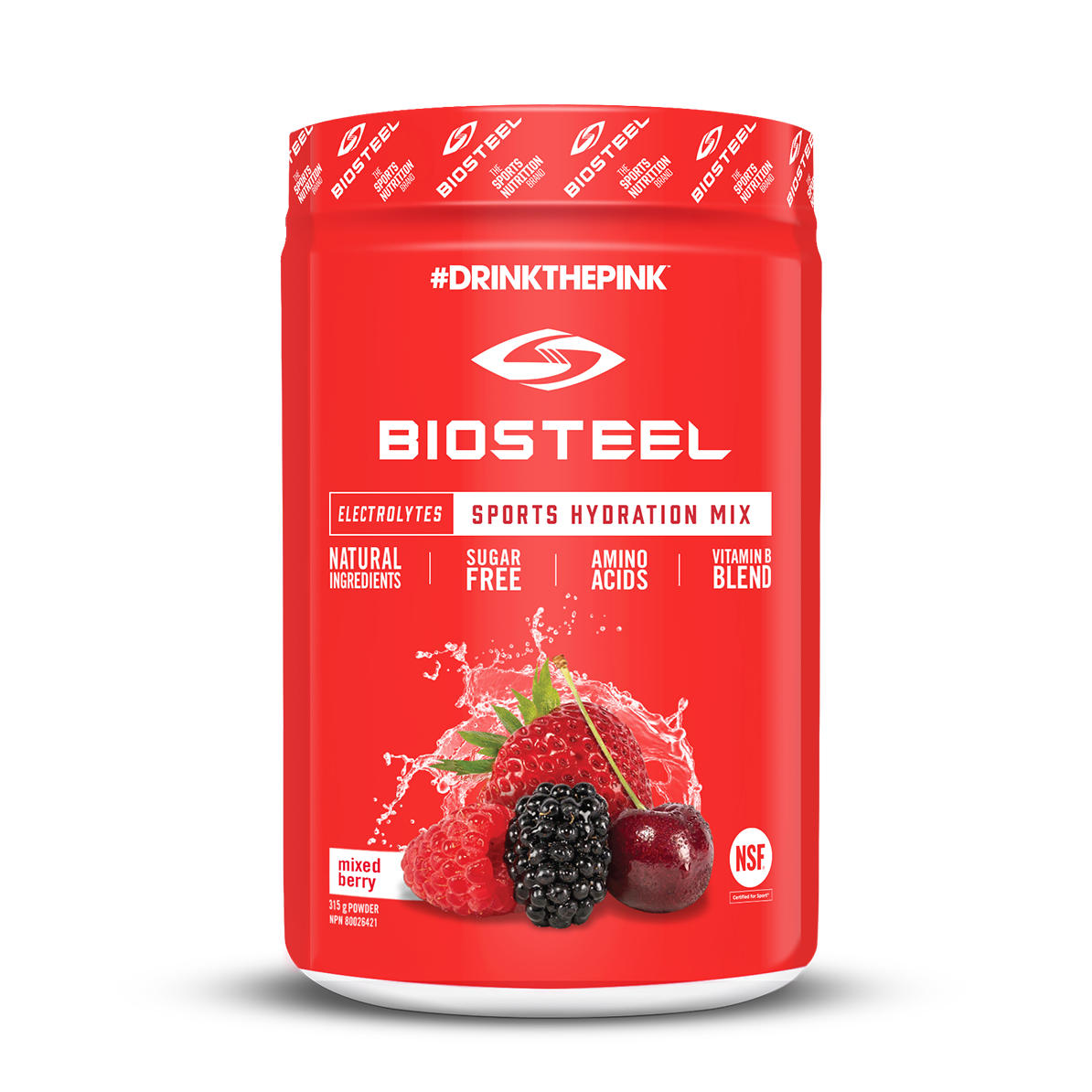 biosteel orange container