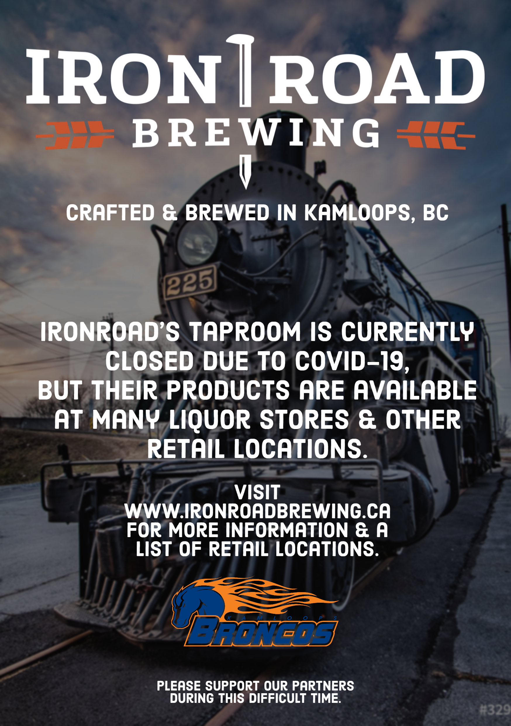 ironroad micro brewery ad