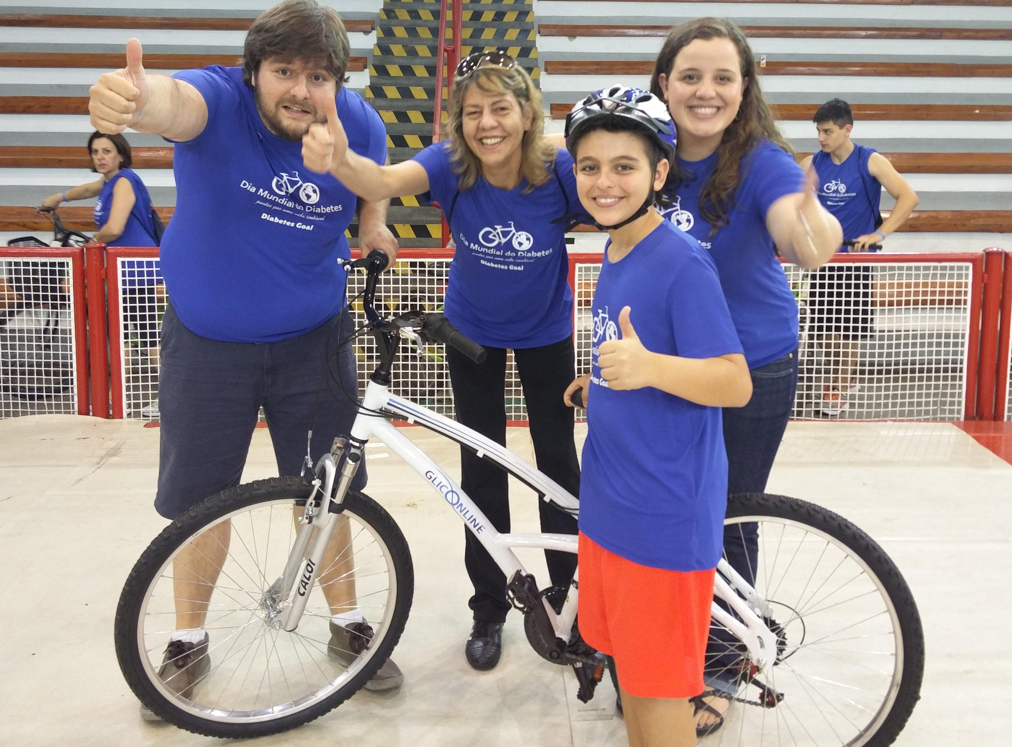 Pedal Gliconline Dia Mundial do Diabetes