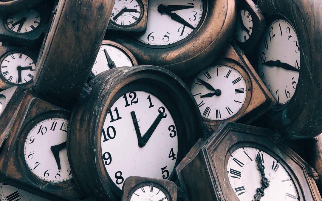 O Tempo nos ensina
