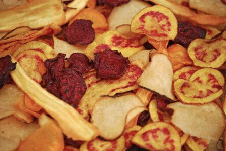 Chips crocantes de tubérculos nativos (Veggie)