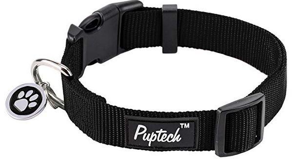 puppytec nylon dog collar