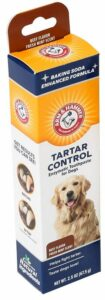 Arm and Hammer dog toothpaste