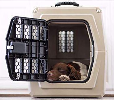 Gunner dog kennel. dogspeaking.com