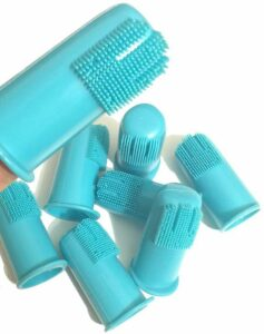 H & H Pets dog finger toothbrush set