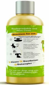 ProPets natural dog shampoo