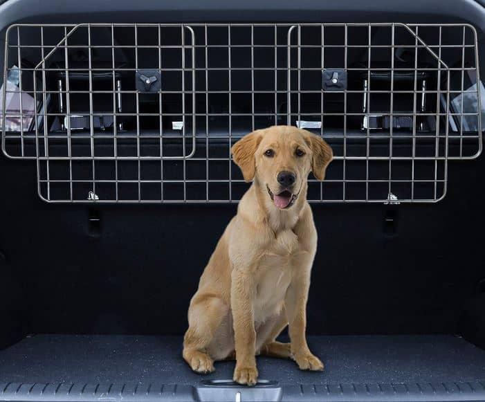 Dog car barrier - pet gate - Salnova dog barrier