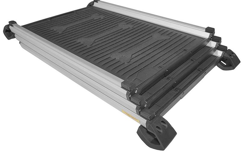 The Titan 28-61 dog ramp Dog stairs and dog tamps