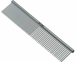 The Andes steel dog grooming comb