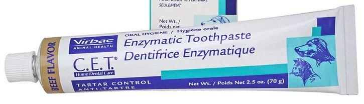 Virbac vet-approved dog toothpaste