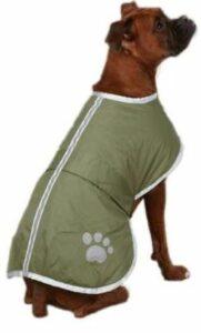 Zack & Zoey Nor'easter dog blanket coat