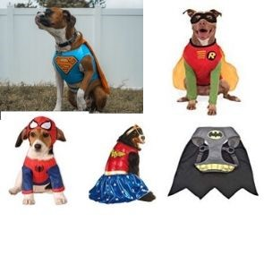 dog clothes Superhero costumes