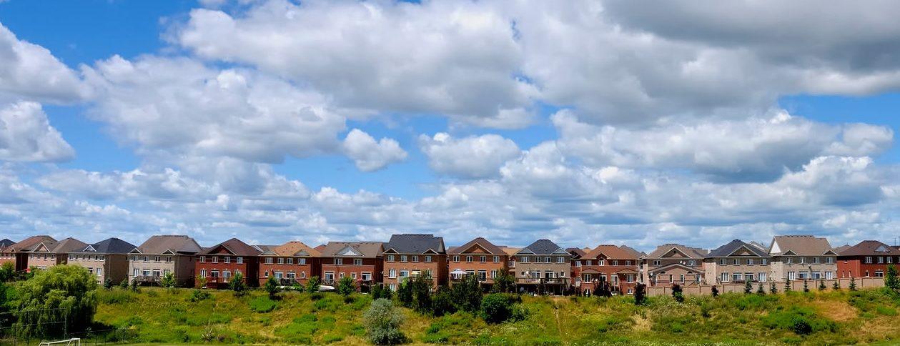 Sprawling subdivision in Brampton