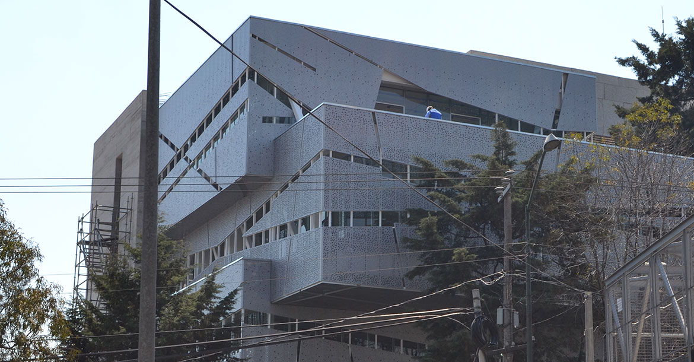 CIDE Ampliación Biblioteca