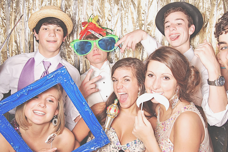 School dance photo booth that is awesome