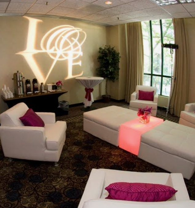 Event lounge area rental