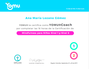 Yomu Coach Certificada