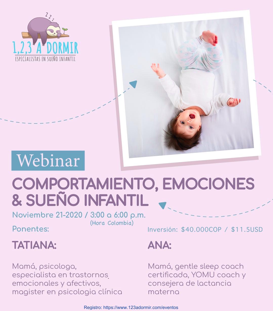 Comportamiento, Emociones y Sueño Infantil. De los 0 a los 6 años