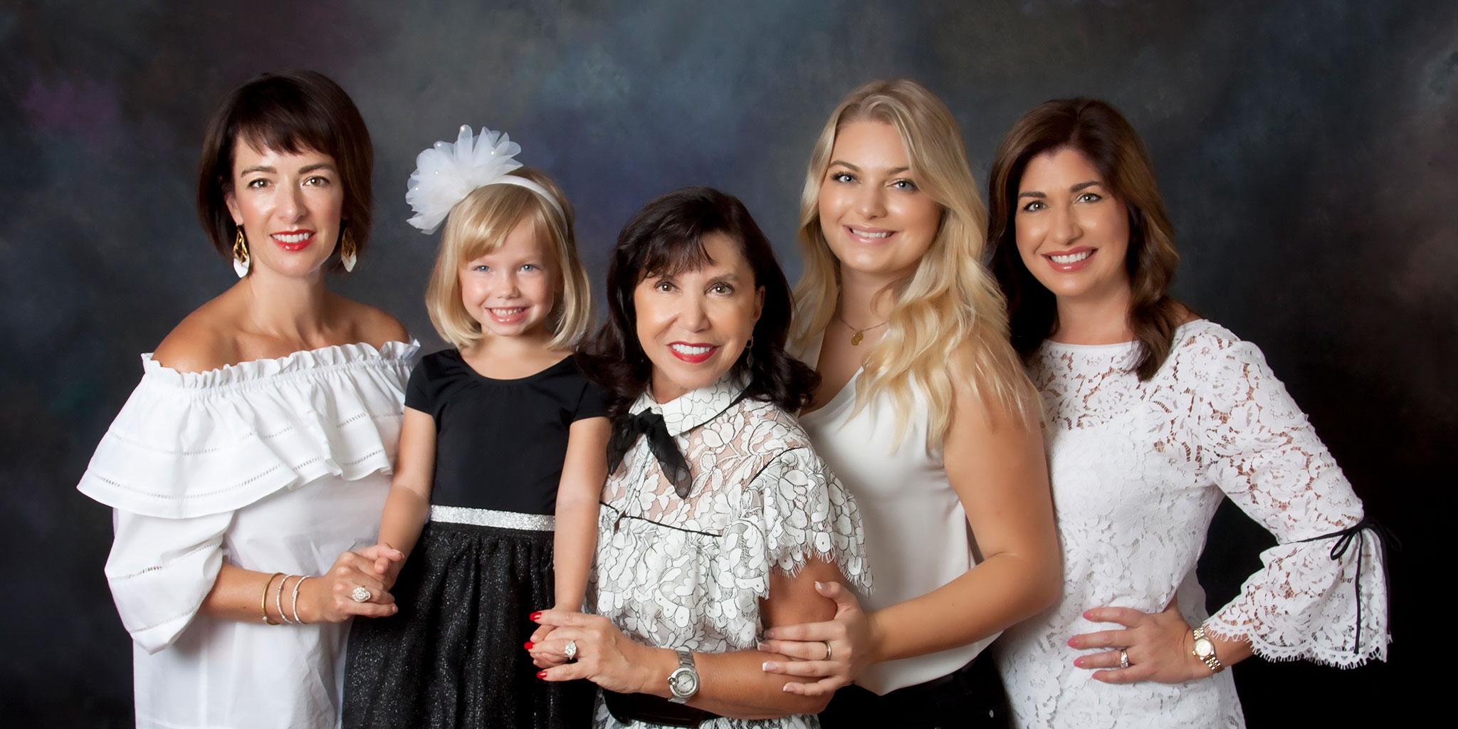 Deborah Young Studio family portrait
