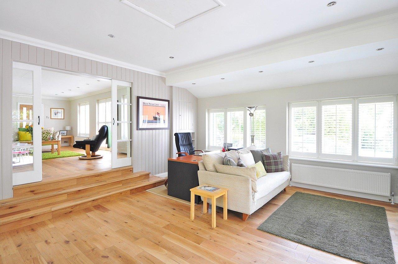 wooden floor, house, floor
