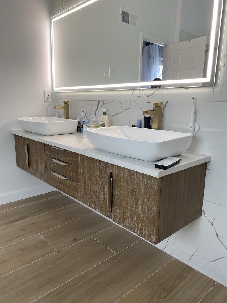 Bathroom Remodel. Chantilly