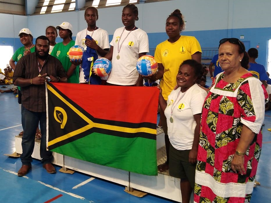 Team Vanuatu Youth Development Girls Win in Lifou