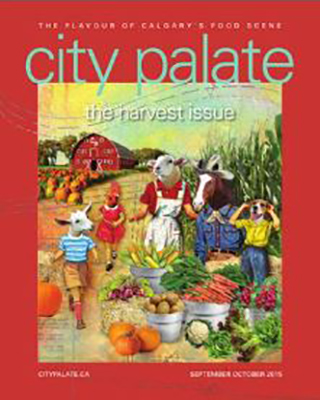 City Palate, guide to the good life in Calgary digital issue 2015 09-10