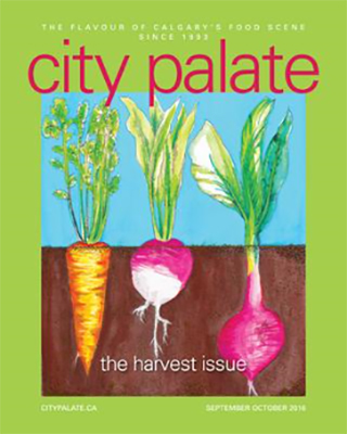 City Palate, guide to the good life in Calgary digital issue 2016 09-10