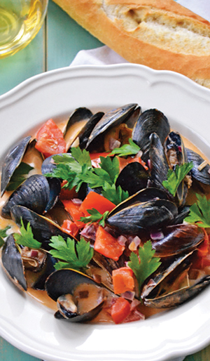 City Palate, guide to the good life in Calgary one ingredient 2018-05-06 Mussels with Garlic and Wine