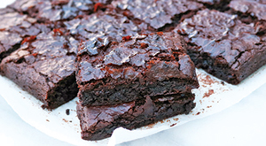 City Palate, guide to the good life in Calgary one ingredient 2018-05-06 Red Wine or Port Brownies