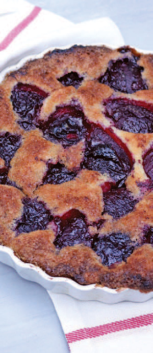 City Palate, guide to the good life in Calgary one ingredient 2018-09-10 Marian Burros Plum Torte