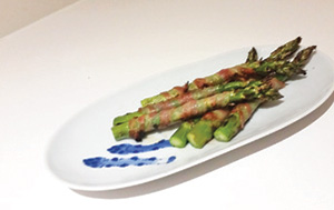 City Palate, guide to the good life in Calgary - quick way with 2018-03-04 Grilled Asparagus Wrapped in Spicy Pancetta