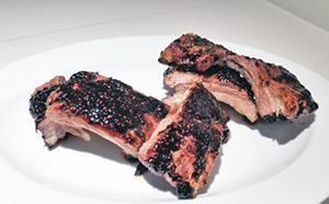City Palate, guide to the good life in Calgary quick ways with 2018 -07-08 Raspberry Balsamic Glaze Ribs