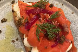 Hawthorn Dining Room Food