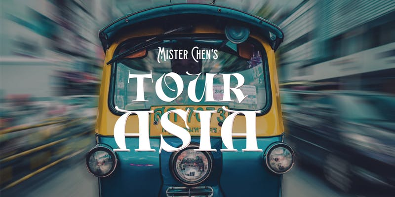 Tour of Asia Dinners Invite you to Play With Your Food