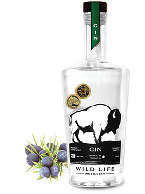 City Palate, guide to the good life in Calgary - drink this - 2018-07-08 - Wildlife Distillery Gin