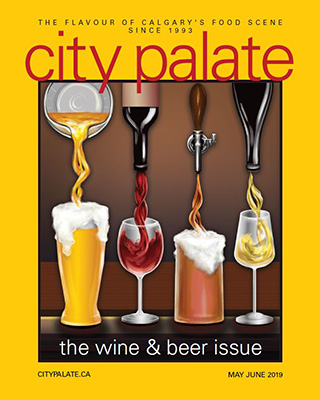 City Palate, guide to the good life in Calgary - cover - 2018-05-06 -