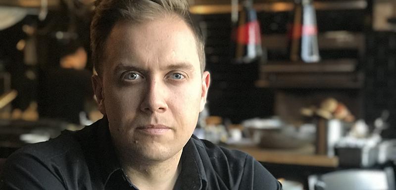 Chef Darren MacLean of Shokunin restaurant in Calgary