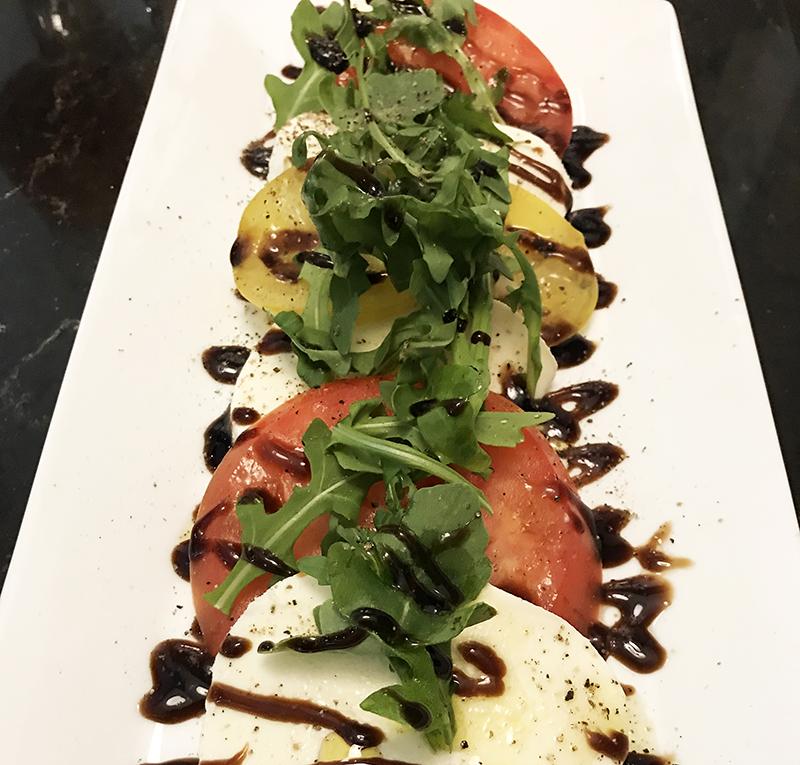 Caprese Salad at Headquarters restaurant in Calgary