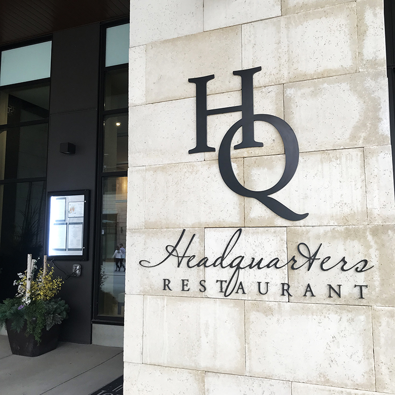 Headquarters restaurant in Calgary