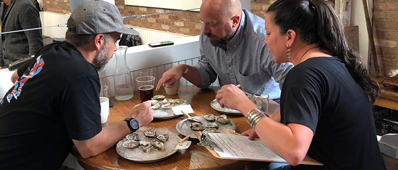 Shucking Excellence: Alberta Oyster Fest Hits Rodney's in Support of Mealshare