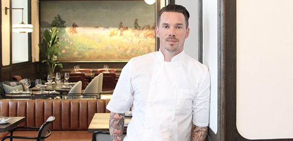 Chef Dave Bohati at Calgary's Hawthorn Dining Room