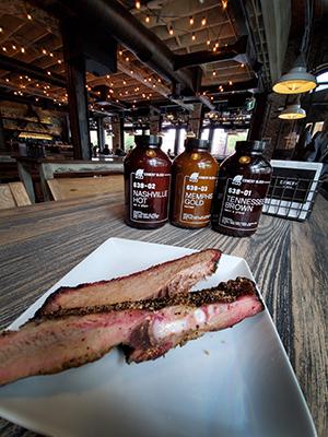 Calgary Restaurant Comery Block pork rib and brisket