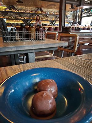 Calgary restaurant Comery Block's Tennessee truffles