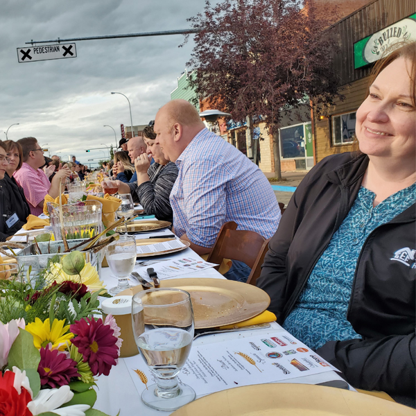 stettler taste of the heartland longtable dinner