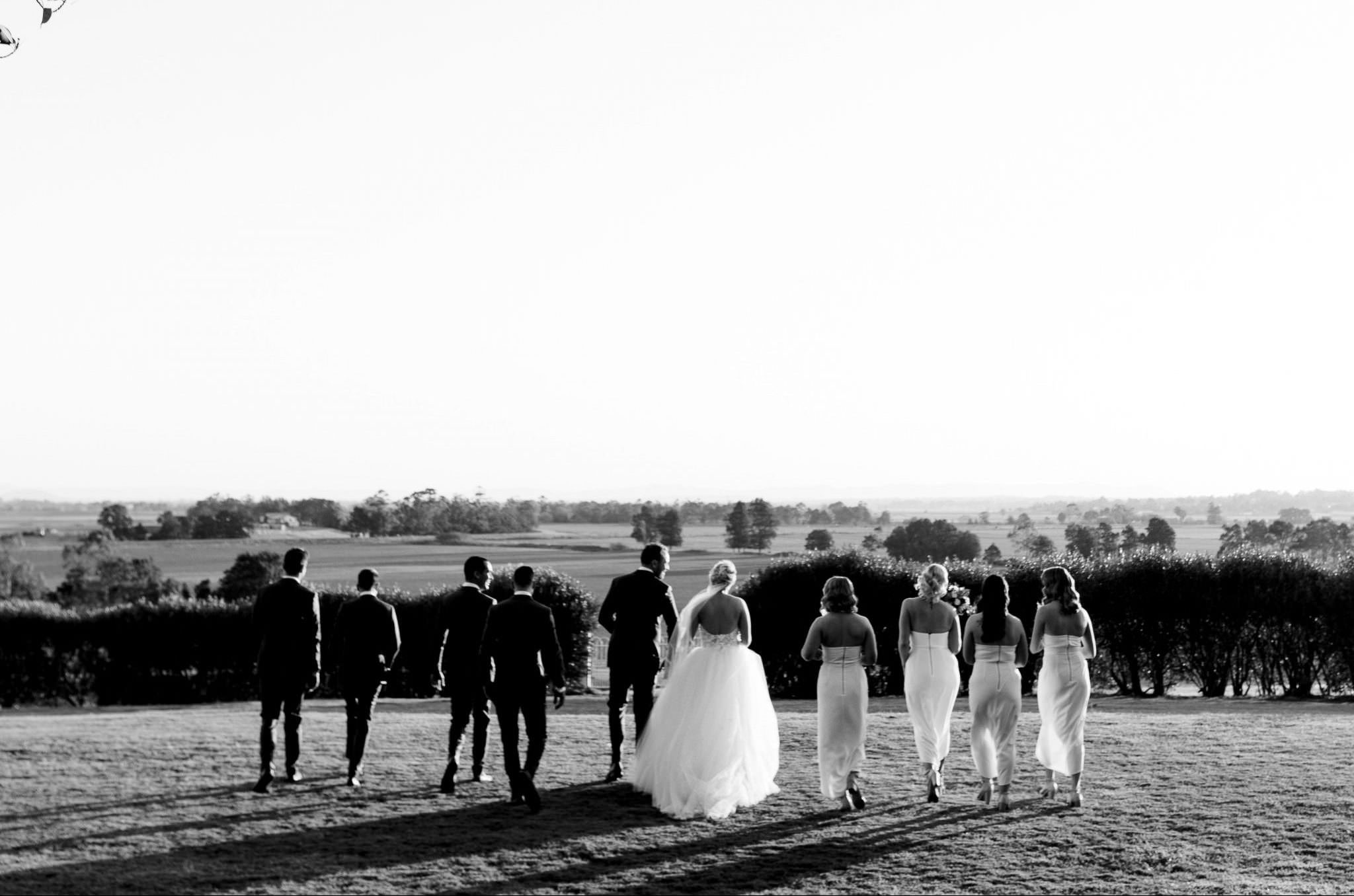 Bridal Party in the Hunter