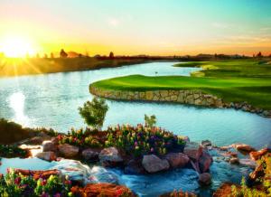 Sewailo Golf Club, Casino Del Sol, 5655 Valencia Rd. Tucson, AZ 85757 Designer: Notah Begay; Hole #18